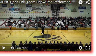 2015 JDHS Dance Team Dad's Showtime Performance Part 1